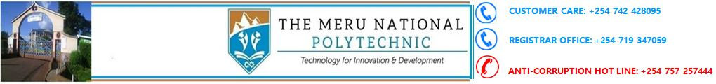The Meru National Polytechnic
